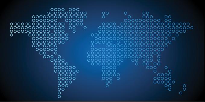 Blue Circle Map
